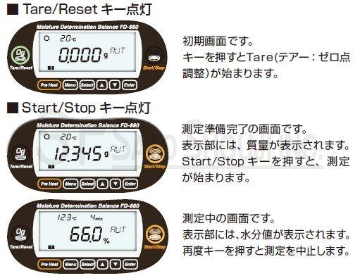 赤外線水分計 FD-660 [ケツト科学Kett]