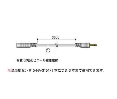 TR-1C30 センサ延長ケーブル