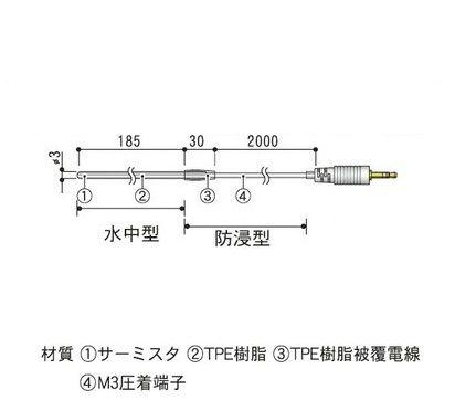 TR-1220 ステンレス保護管センサ