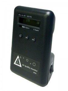 サトテック PM2.5ダストモニター粉じん計 DC170
