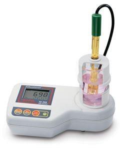 スターラー付pH/℃計 HI 208