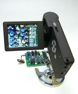 Jスコープ 携帯式LCDデジタルマイクロスコープMJ-39(ガングリップ型デジタル顕微鏡)