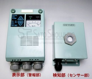 定置形毒ガス警報器TK-303ガスチェッカー(一酸化炭素、他)