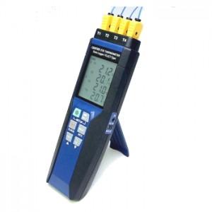 サトテック デジタル温度計4チャンネルCENTER378 データロガー機能つき