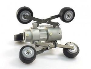 Jスコープ パイプワゴンJSP-00 高さ可変式キャスター付 管内検査カメラ用