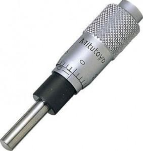 マイクロメータヘッド(高機能形)ファインピッチ(0.25mm)[ミツトヨ]