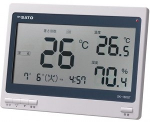 熱中症暑さ計SK-160GT