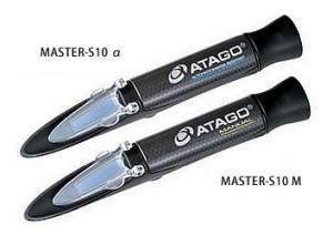 アタゴ ATAGO 食塩水濃度屈折計 MASTER-S10