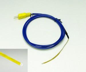 テープ形多目的温度センサ TS-04K(ポリイミド樹脂サーモカップルシート/フィルムK熱電対)
