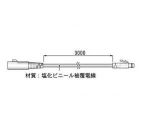 センサ延長ケーブルTR-2C30