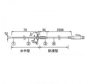 ステンレス保護管センサTR-5420