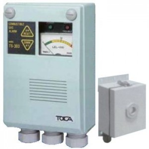 定置形毒ガス検知検知器 TK-303(硫化水素用:H2S)ガスチェッカー