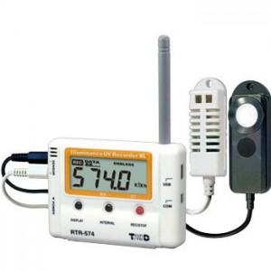 T&DおんどとりRTR-574/RTR-574-S照度・紫外線・温度・湿度計 ロガー