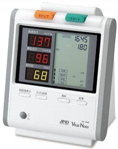 自動血圧計TM-2580(バイタルノート)