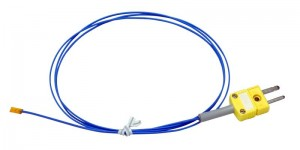 貼付K熱表面温度センサーTJK-SF-国内生産品(ポリイミド樹脂温度センサー)