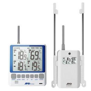 ワイヤレスマルチチャンネル温湿度計 AD-5663【A&D】