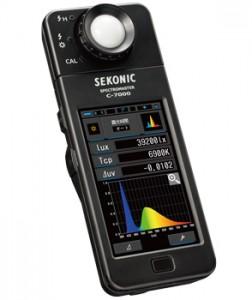 セコニック 分光色彩照度計 スペクトロマスター C-7000