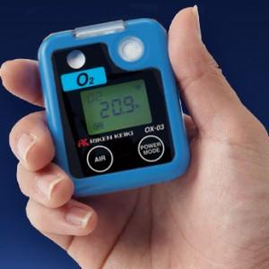 理研計器 ポケッタブル酸素モニター OX-03