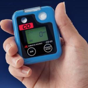 理研計器 ポケッタブル一酸化炭素モニター CO-03