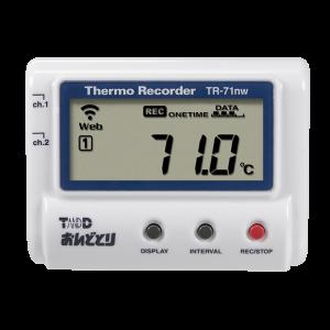 T&D おんどとりTR-71nwデータロガー温度計