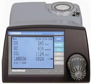 HORIBA(ホリバ)自動車排ガス測定器 MEXA-584L