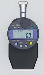 ゴム・プラスチック硬度計(デュアルメータ)デジタル[テクロック]