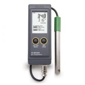 ポータブルpH/ 温度計 HI 991001N