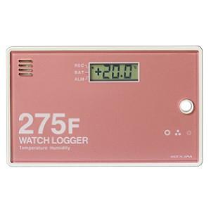 温湿度データロガー KT-275F NFCウォッチロガー