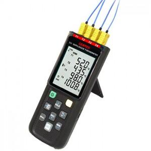 サトテック Bluetooth対応4chデータロガー熱電対温度計CENTER521(USB接続可)