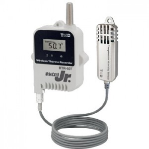 T&DおんどとりRTR-507S/507SL温度・湿度ワイヤレスデータロガー高精度広範囲