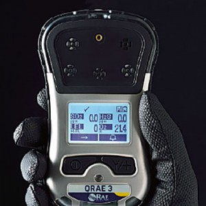 マルチ型ガス検知器キューレイ3 QRAE3