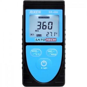 サトテック デジタル表面抵抗計SR-496(抵抗値Ωによる表面水分計)