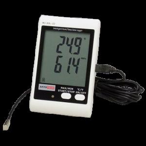 サトテック アラーム付き温湿度(温度・湿度)データロガーMJ-ADL-21