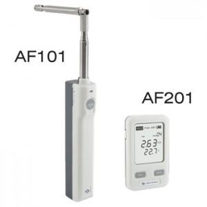 ワイヤレス風速計・温度計AF101+AF201(JIS規格適合)