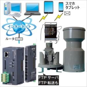 雨量計IoTシステムMJ-IoT-OW34BP