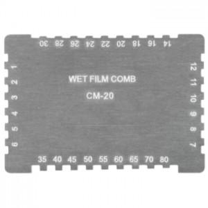 サトテック くし形ウェットフィルム膜厚計MJ-CM20