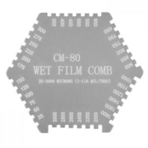 サトテック 六角形ウェットフィルム膜厚計MJ-CM80