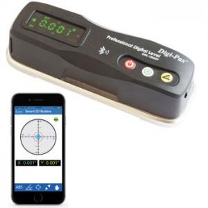 2軸精密デジタル平型水準器 DWL-1500XY【アカツキ】