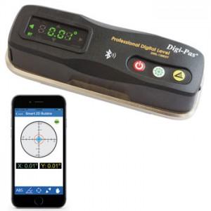 2軸精密デジタル平型水準器 DWL-1300XY【アカツキ】