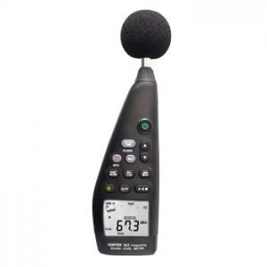 サトテック データロガー騒音計CENTER392(等価騒音レベル測定対応/アナログ出力機能付き)