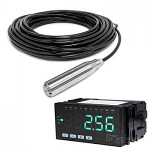 サトテック 水位センサー+デジタル表示器MJ-PM-WL11-20