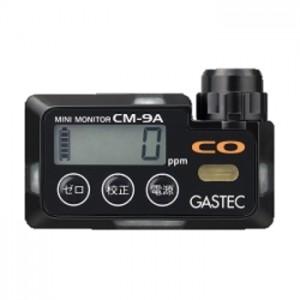 ガステック 装着形一酸化炭素検知警報器CM-9A