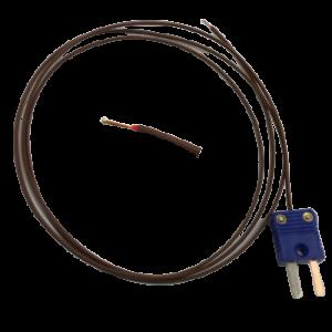 先端溶接T熱電対素線センサー(T熱ビーズ型温度センサー )
