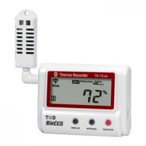 T&D おんどとり温度・湿度データロガー TR-72wb