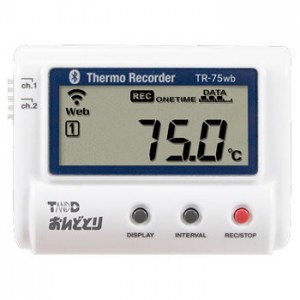 T&D おんどとり温度データロガー熱電対対応 TR-75wb