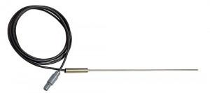 白金高速応答センサ Pt100 クラスA(φ1.6mm) (温度計CENTER376用)