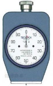 テクロック ゴム・プラスチック硬度計(デュロメータ) アナログ式 GSシリーズ