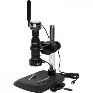 デジタル実体顕微鏡HD-3500WF(USB/Wi-Fi、同軸落射照明、画像計測ソフト付、500万画素)