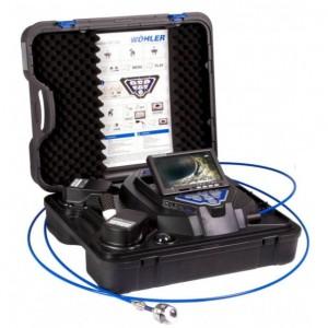 WOHLER 先端可動型配管検査カメラシステムVIS350PLUS