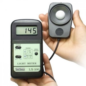 デジタル照度計LX-100